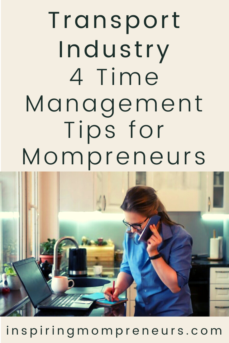 Here are some time management tips you can incorporate daily while on the road to maximize the time you have and balance out your life. #transportindustry #timemanagement #tips #mompreneurs