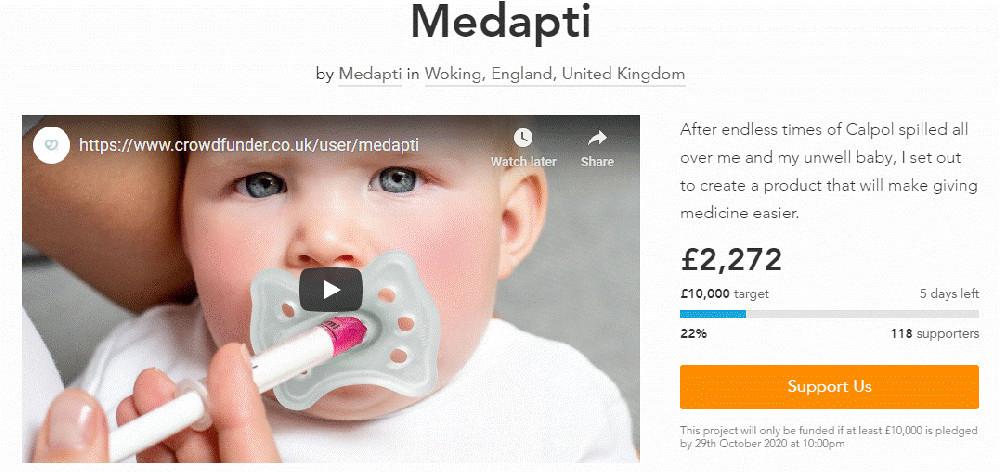 Medapti Crowdfunding Campaign