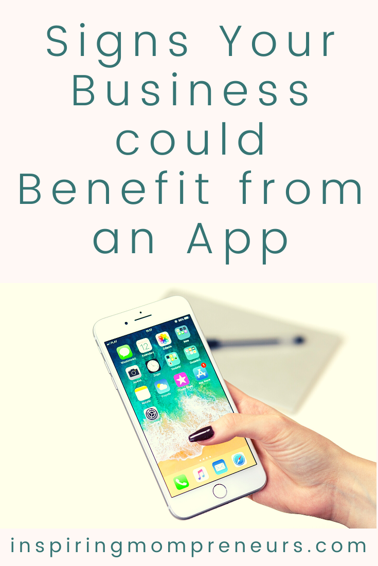 Apps can be utilized even by small businesses to get amazing results and keep clients engaged. Here are some signs your business could benefit from an app.  #buildanapp #benefitsapps #smallbusiness #benefitfromanapp