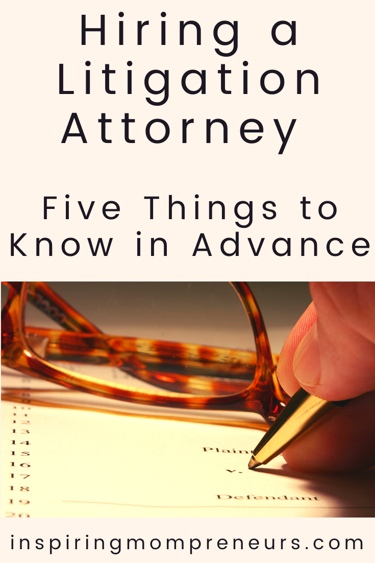 Alitigation attorney is critical for when you are filing for, or defending against, a legal claim.  Keep these key factors in mind when meeting an attorney.  #hiringalitigationattorney