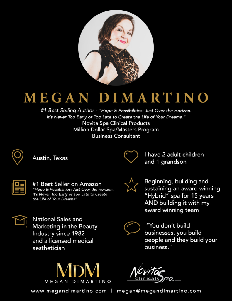 Meet Megan DiMartino, Creator and Founder of Glycolique and Novita Spa, Amazon Bestselling Author of Hope and Possibilities Just Over the Horizon. #MeganDiMartino #Creator #Founder #Glycolique #NovitaSpa #AmazonBestSellingAuthor #HopeandPossibilities
