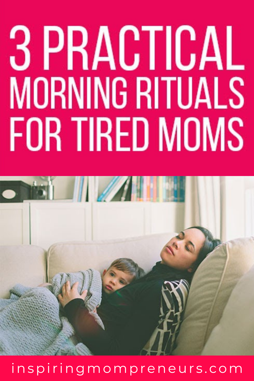 Here are 3 practical morning rituals to take you from tired mom to super mom in just 30 minutes, care of The 4am Club.  #practical #morningrituals #tiredmoms #worklifebalance #productivity