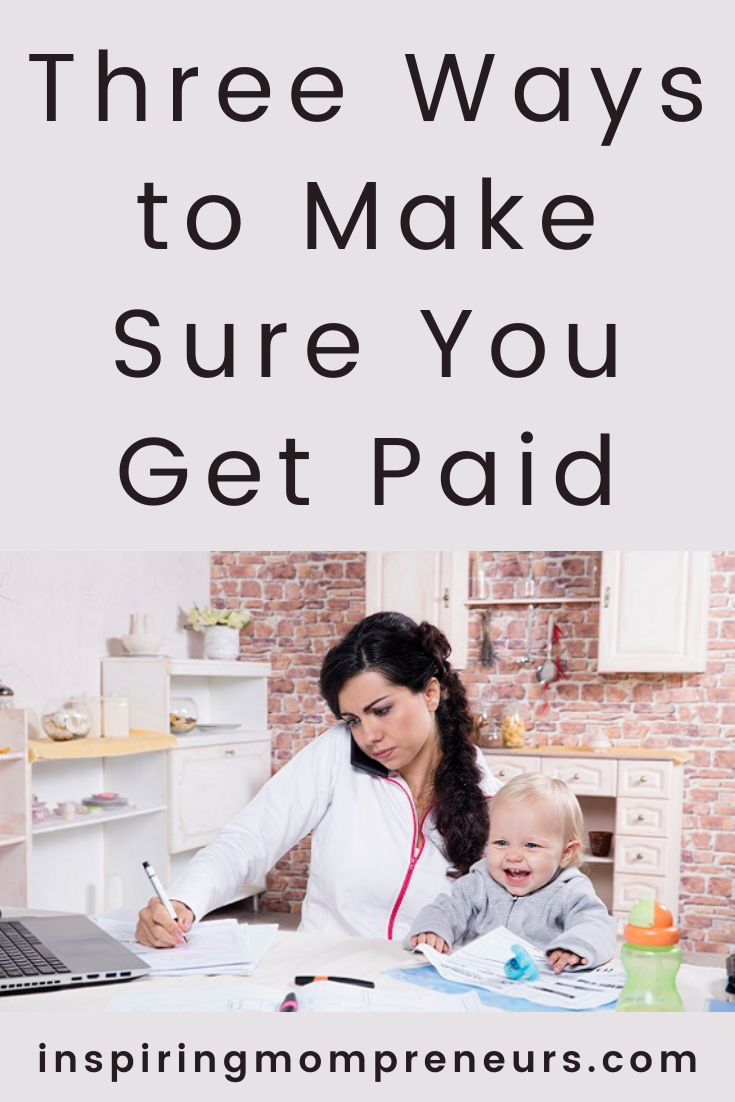 It can be uncomfortable to ask about unpaid invoices. These tips will help you get paid on time and hopefully reduce the number of uncomfortable conversations. #makesureyougetpaid #debtcollection #smallbusiness #entrepreneurship