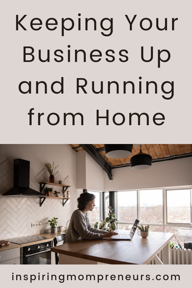 Here are a few things you can do to help make a success of your business - even when you are running it from home.  #homebusinessupkeep #remoteworking  #cybersecurity