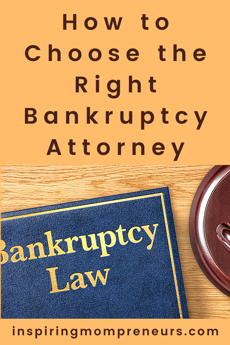 Where do you start when you need to hire a bankruptcy attorney to represent you? Rest assured, here are 6 tips on how to choose the right bankruptcy attorney. #howto #choosetherightbankruptcyattorney