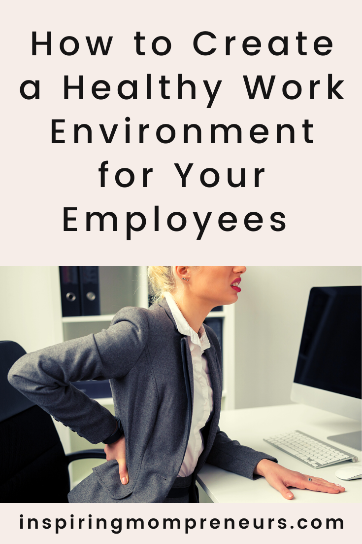 Creating an office space that nurtures your employees makes them feel valued, and in turn, this makes them feel motivated to work harder.  Here are some tips on how to create a healthy work environment. #howto #createhealthyworkenvironment #healthyoffice
