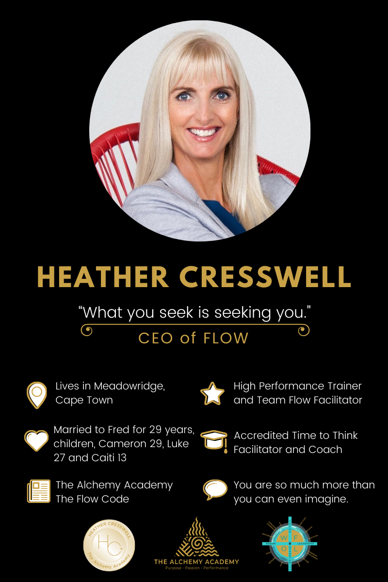 Meet Heather Cresswell, a high-performance coach for entrepreneurs, executives and leaders. And CEO and Founder of The Alchemy Academy and The Flow Code. #featuredmompreneur #heathercresswell #onlineleadershipcoach #highperformancecoach #flowcodemastermind #flowcodecoachingprogram