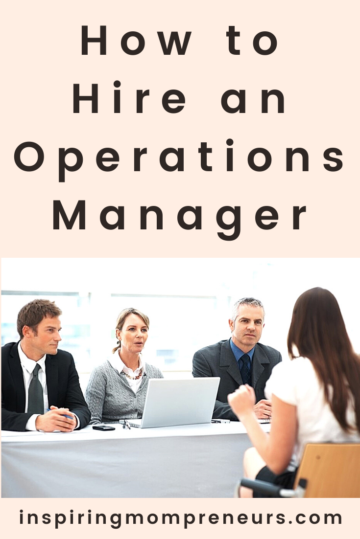 Are you looking to hire an Operations Manager? Here are the qualities that show whether the person you intend to hire is fit for the job.  howtohireanoperationsmanager