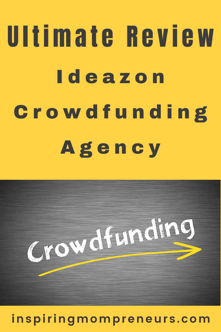 Ideazon Crowdfunding Agency was developed to help entrepreneurs and startups achieve success in launching a crowdfunding project. In-Depth Review by Lisa Noble. #ideazoncrowdfundingagency