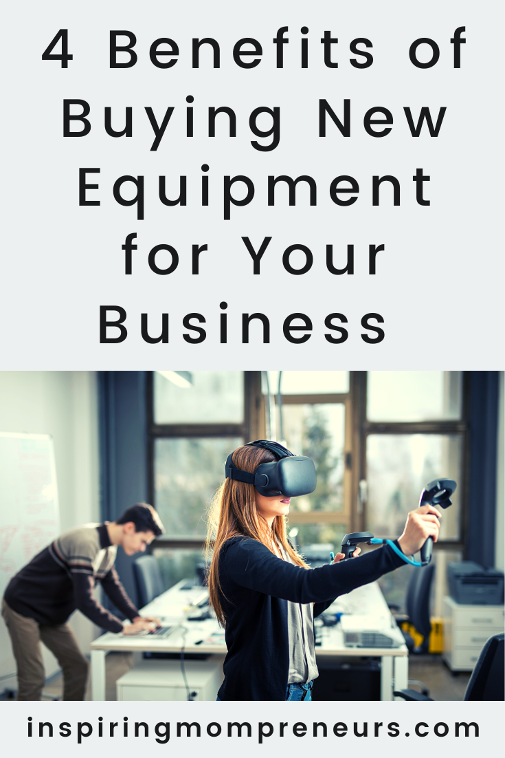 What are the main benefits of buying new equipment for your business? Is it worth it? Or would second-hand equipment do just as well?  #benefits #buyingnewbusinessequipment