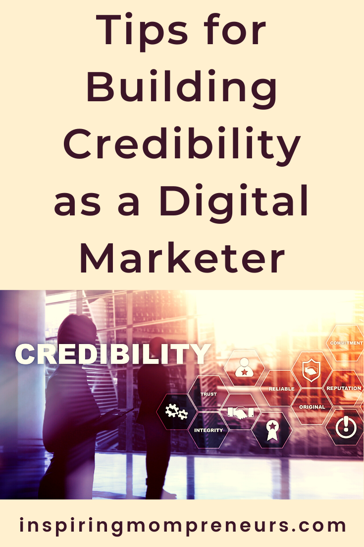 Many people still find it challenging to trust digital marketers. You can stand out from the crowd by practising these tips to build your credibility as a digital marketer. #buildingcredibility #digitalmarketers #digitalmarketing #onlinereputationmanagement #reputationmanagement #buildingcredibilityasadigitalmarketer