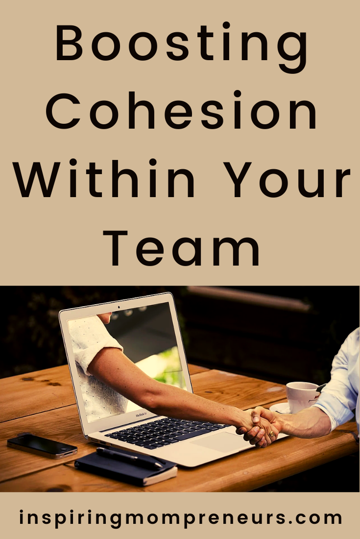 With the unexpected switch to remote working, cohesion is more important than ever. Here are some effective ways to boost cohesion in your team. #boostingcohesion