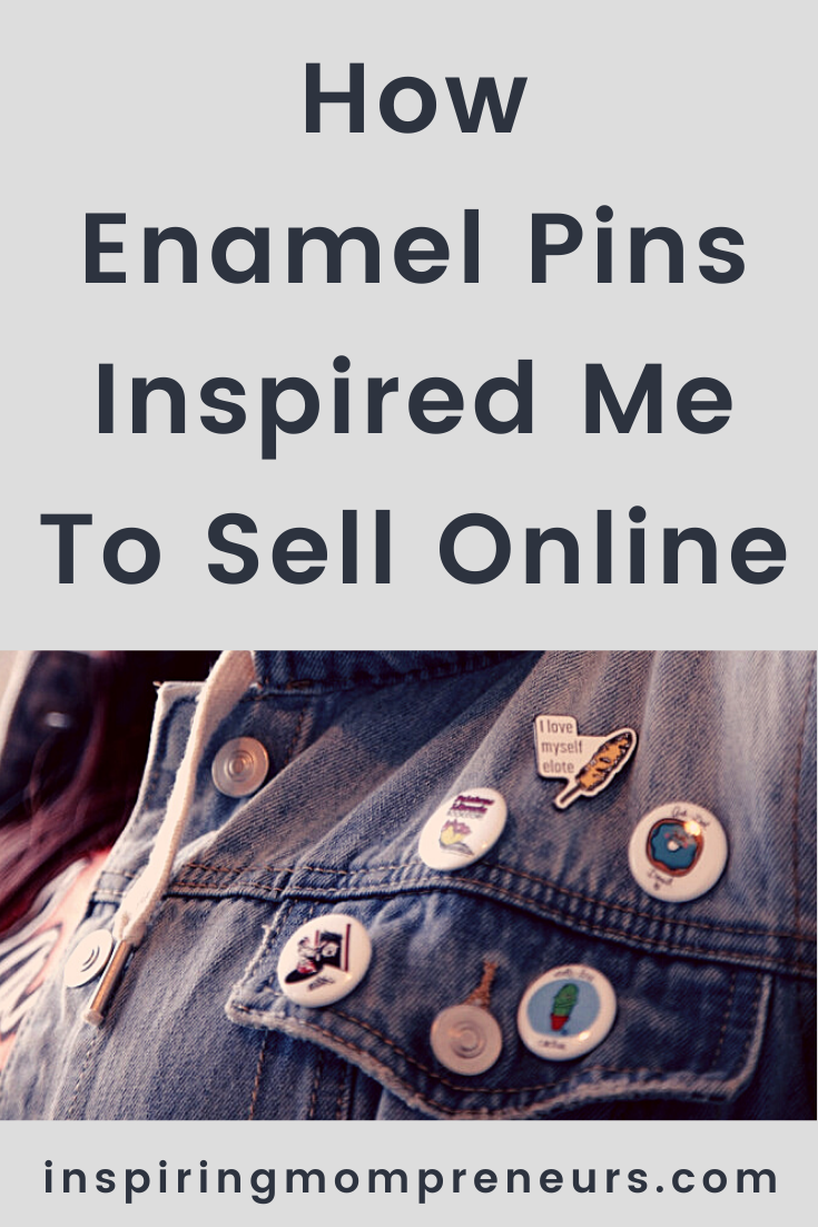 Selling customized pins online is a lucrative home-based activity that can allow us to express ourselves and make a little bank on the side. Here are some benefits of selling on Etsy. #enamelpins #customizedpins #enamellapelpins #sellingonline #sellingonetsy #ecommerce #benefitsofsellingonetsy