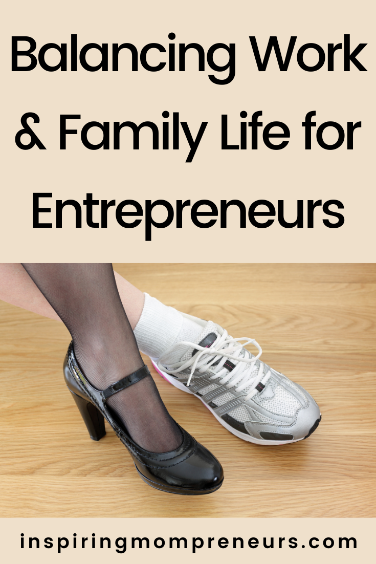 Maintaining a healthy work-life balance when you're an entrepreneur isn't easy.