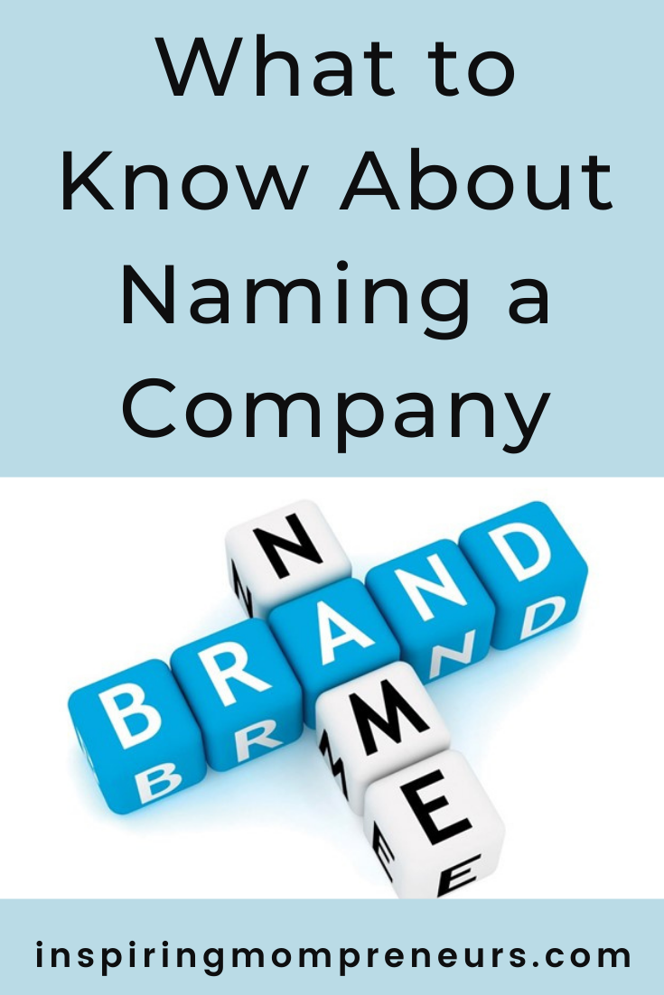 Choosing the perfect company name will give you many benefits, increasing your chances when it comes to building a successful, well known, well-loved brand. #namingacompany #brandname #companyname