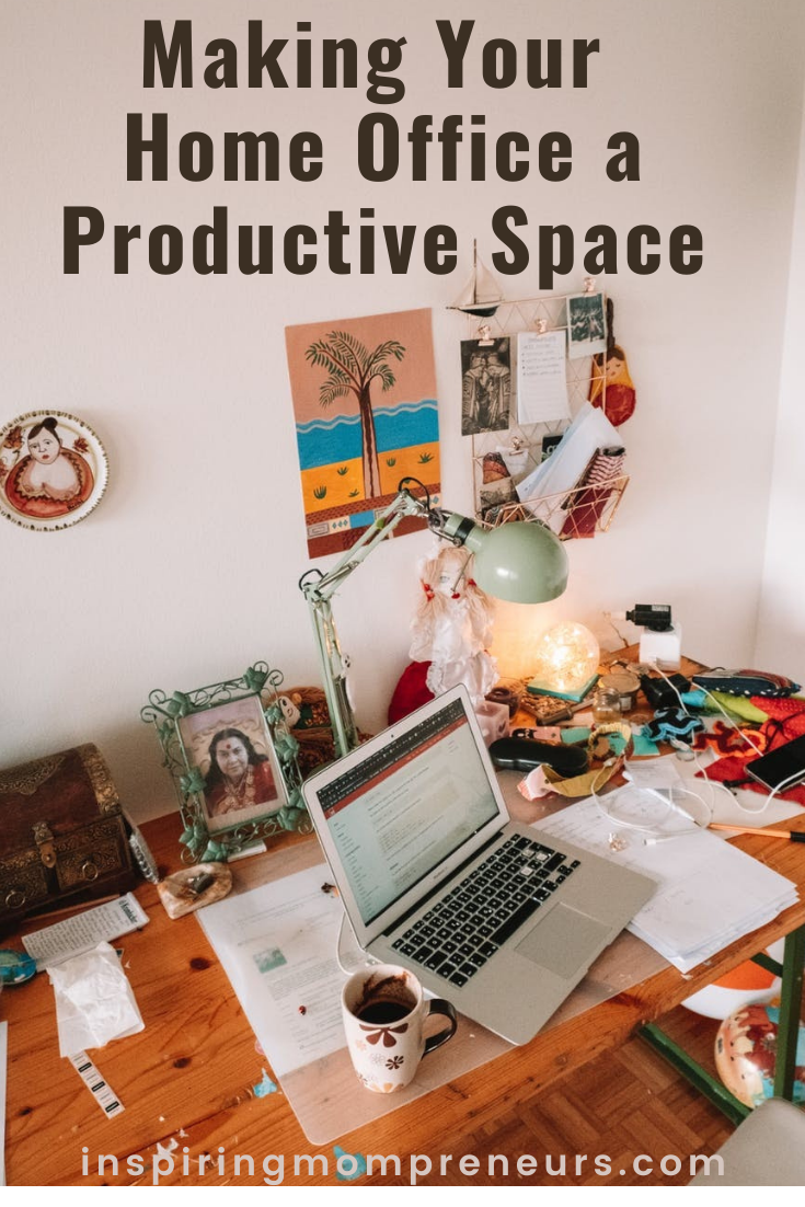Working at home can pose some challenges. For a start, there are distractions. Here are a few simple things you can do that will go a long way to making your home office a productive space.