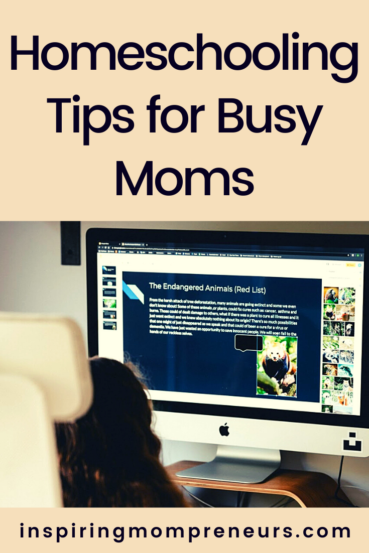 Looking for homeschooling tips for busy moms? Here are teacher-approved methods that can be helpful for you and your kids on any educational platform.  #homeschoolingtipsforbusymoms