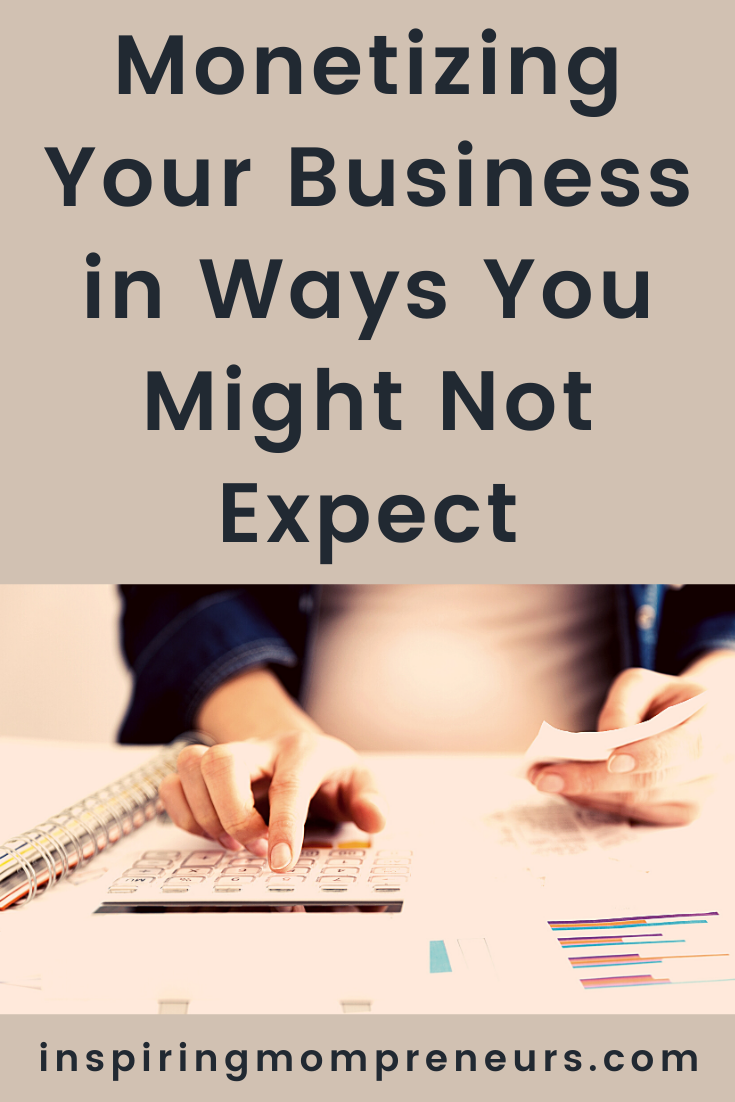 Learning how to monetize your business in ways you might not expect can sometimes help tide you over the difficulties of running a firm in 2020-2021 and beyond. #howtomonetizeyourbusiness