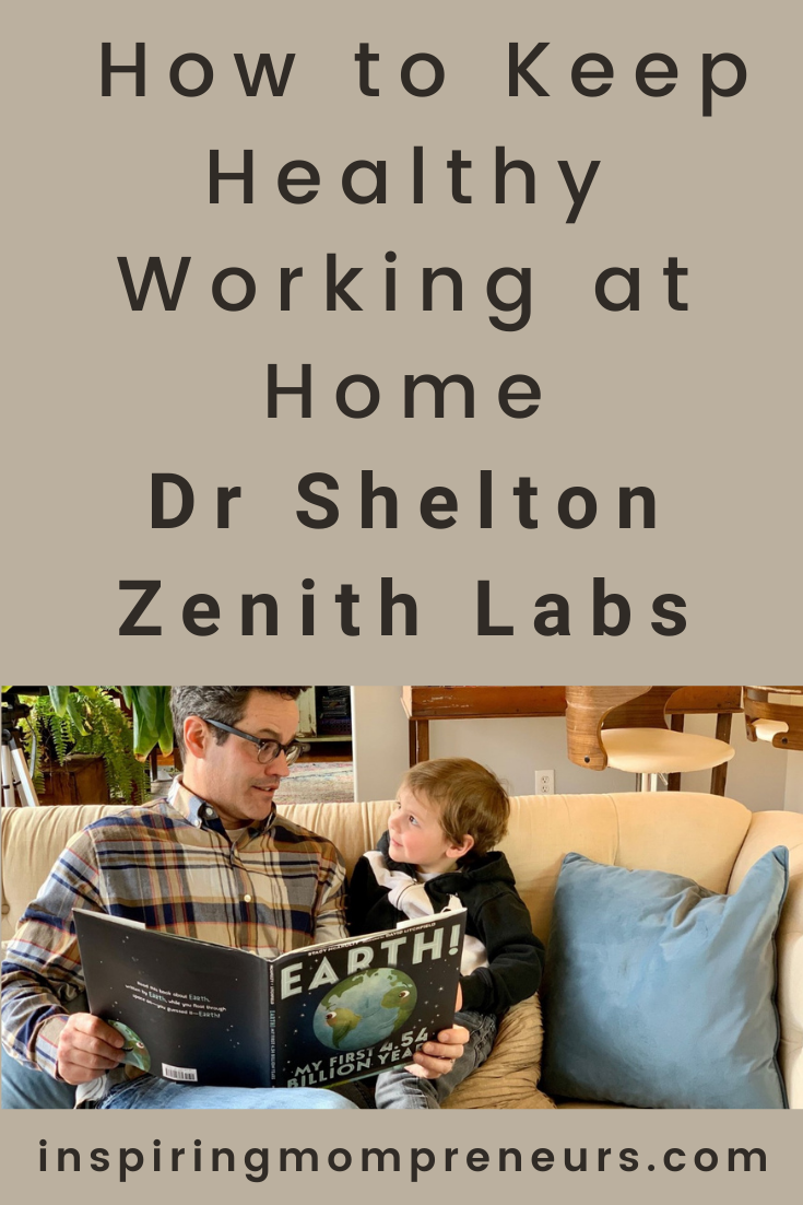 How has working at home affected our health? Dr Shelton Zenith Labs tackles 5 common health problems in this post on how to keep healthy working at home. #drsheltonzenithlabs #howtokeephealthyworkingathome