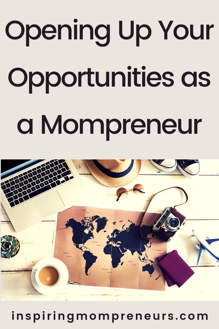 Looking at some of the most powerful ways of opening up your opportunities as a Mompreneur, so you can have much more chance of finding true success.