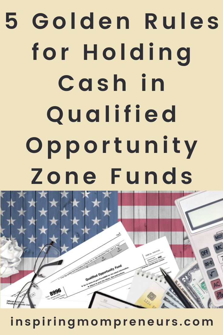In this article, you will find the 5 golden rules for investors who want to place their assets or finances into qualified opportunity zone investment funds. #opportunityzonefunds #investing