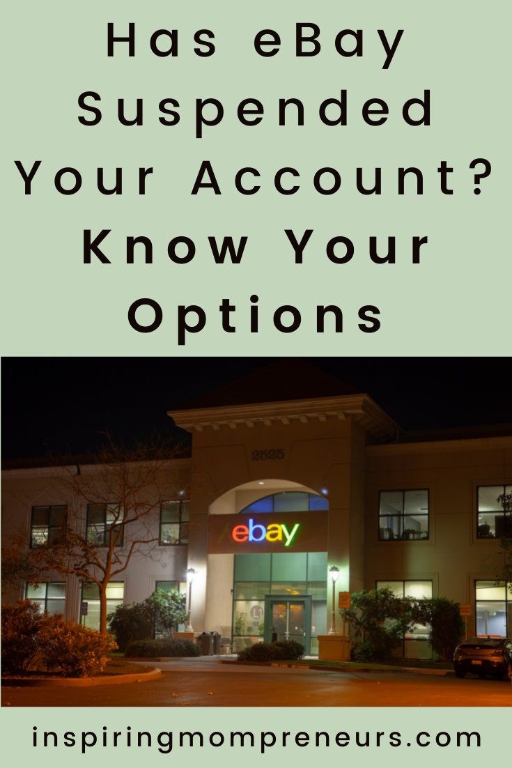 eBay account suspended? When serious entrepreneurs get booted off eBay, it can be devastating. Here's what you need to know if eBay shuts down your business. #ebayaccountsuspended #ecommerce #sellingonline