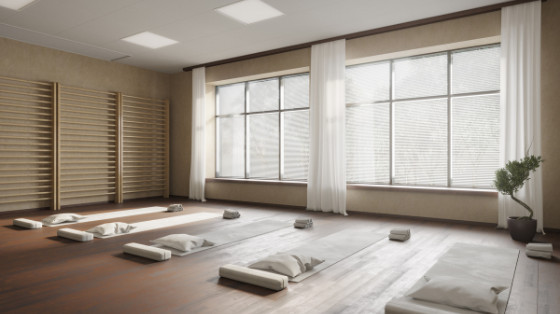 How to Turn Your Home Into a Yoga Studio