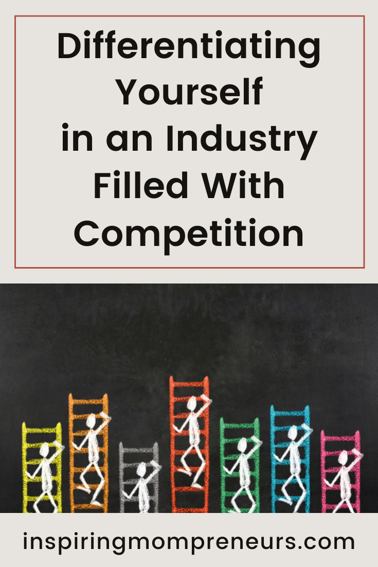 Whether you're an at-home business or have a physical store, differentiating yourself in an industry filled with competition is crucial. Here are our top tips.  #differentiate #competition #marketingstrategy #branding