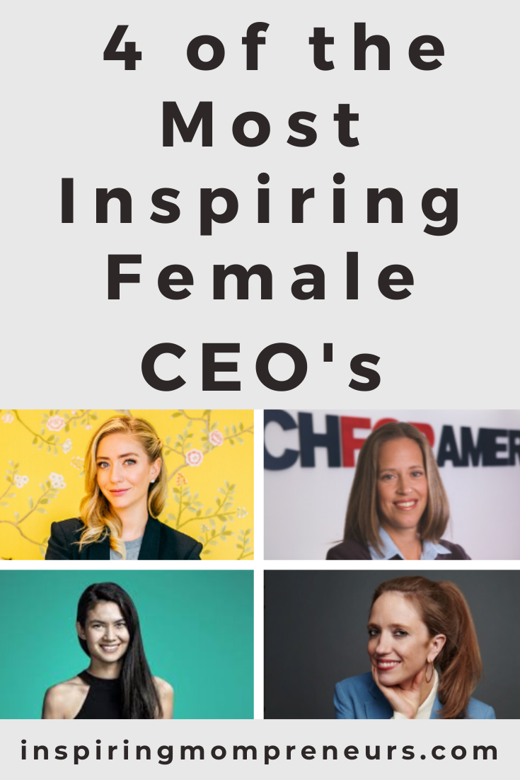 Hearing stories of accomplished women who have already made it can inspire us to hang in there, despite challenges. Enjoy these stories of 4 of the most inspiring female CEOs ever.