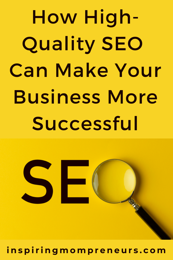 High-quality SEO is a direct way to create more sales and revenue because the more hits your website receives, the better it will be for your business. Read on