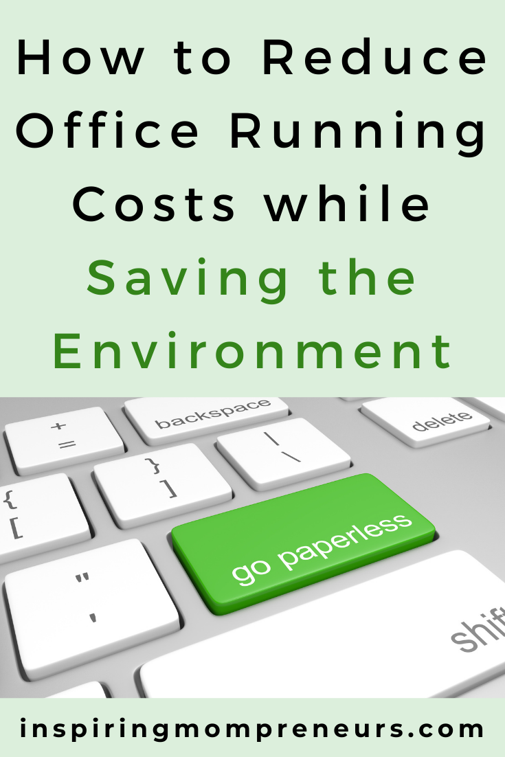 There are many ways to kill two birds with one stone in business and today we'll focus on these 2: how to reduce office costs while saving the environment.