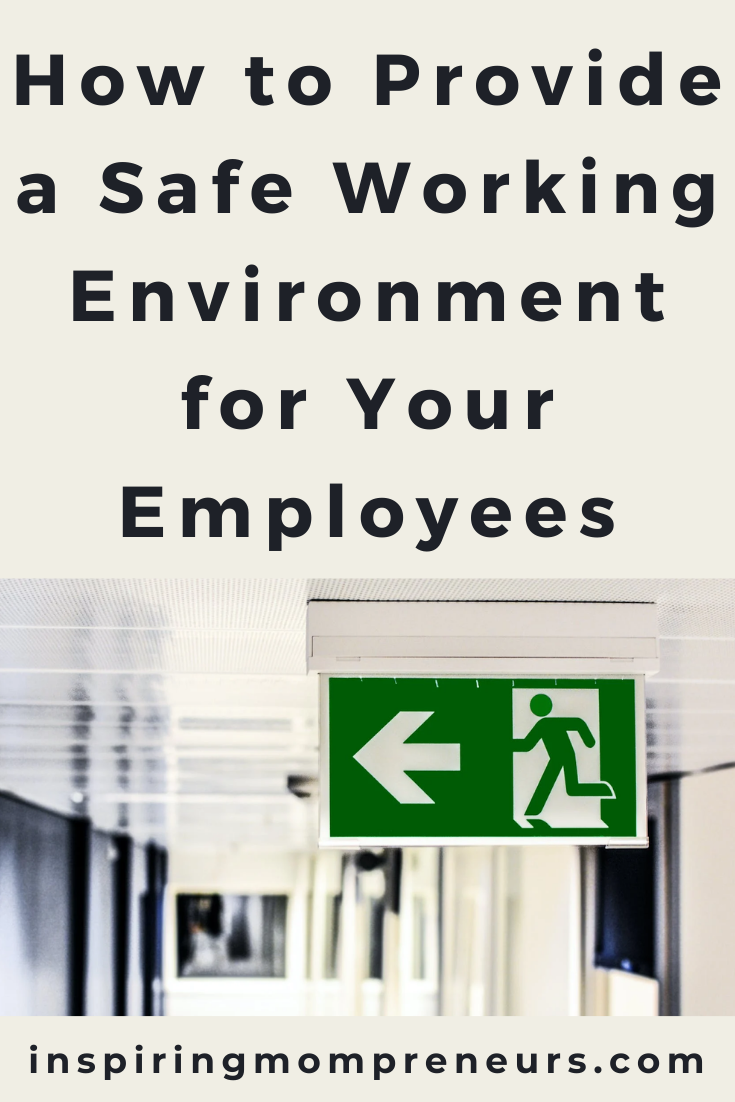 Ensuring the health and safety of your staff is crucial when running your own business. This is how to provide a safe working environment for your employees.
