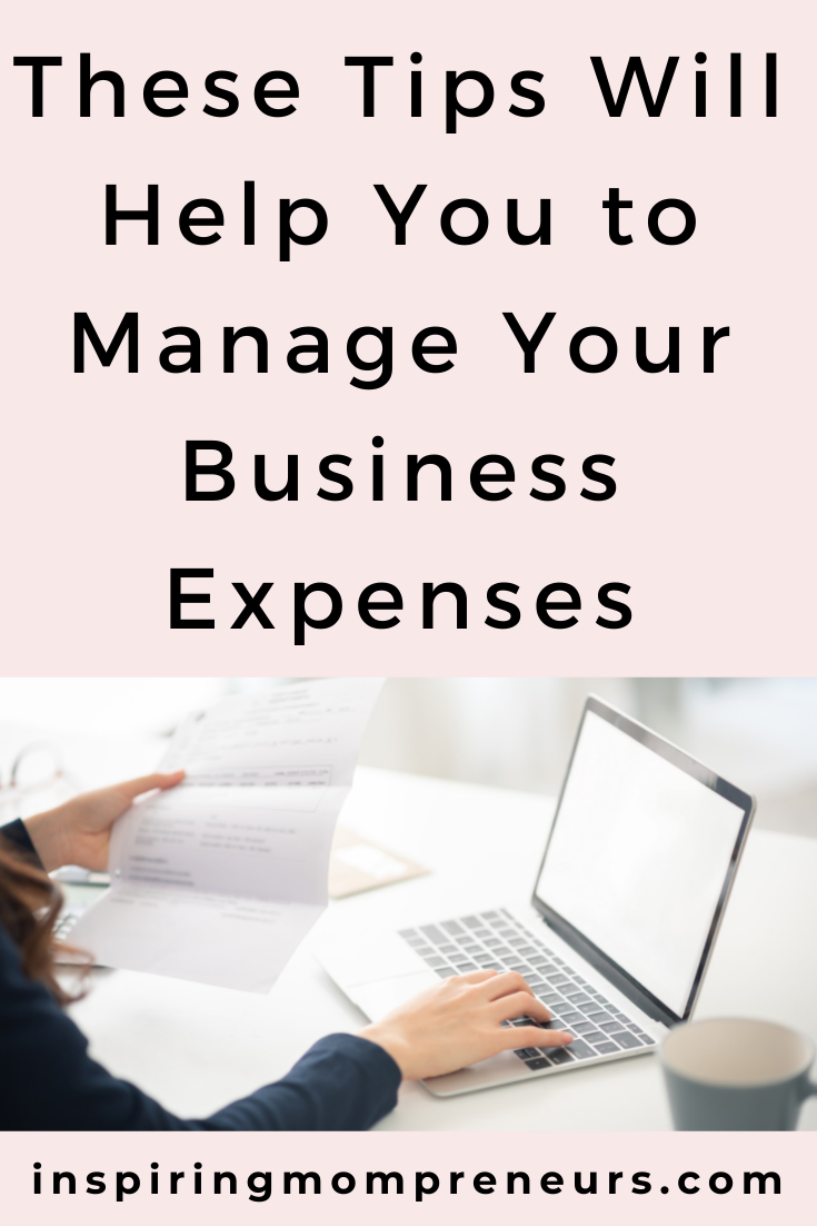 Tips to Manage Business Expenses