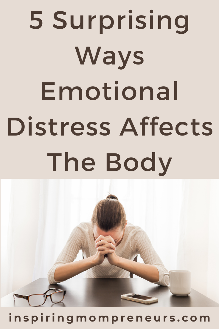While the body is dealing with the constant threat of stress, other systems fall out of balance. Here are 5 surprising ways emotional distress affects the body.