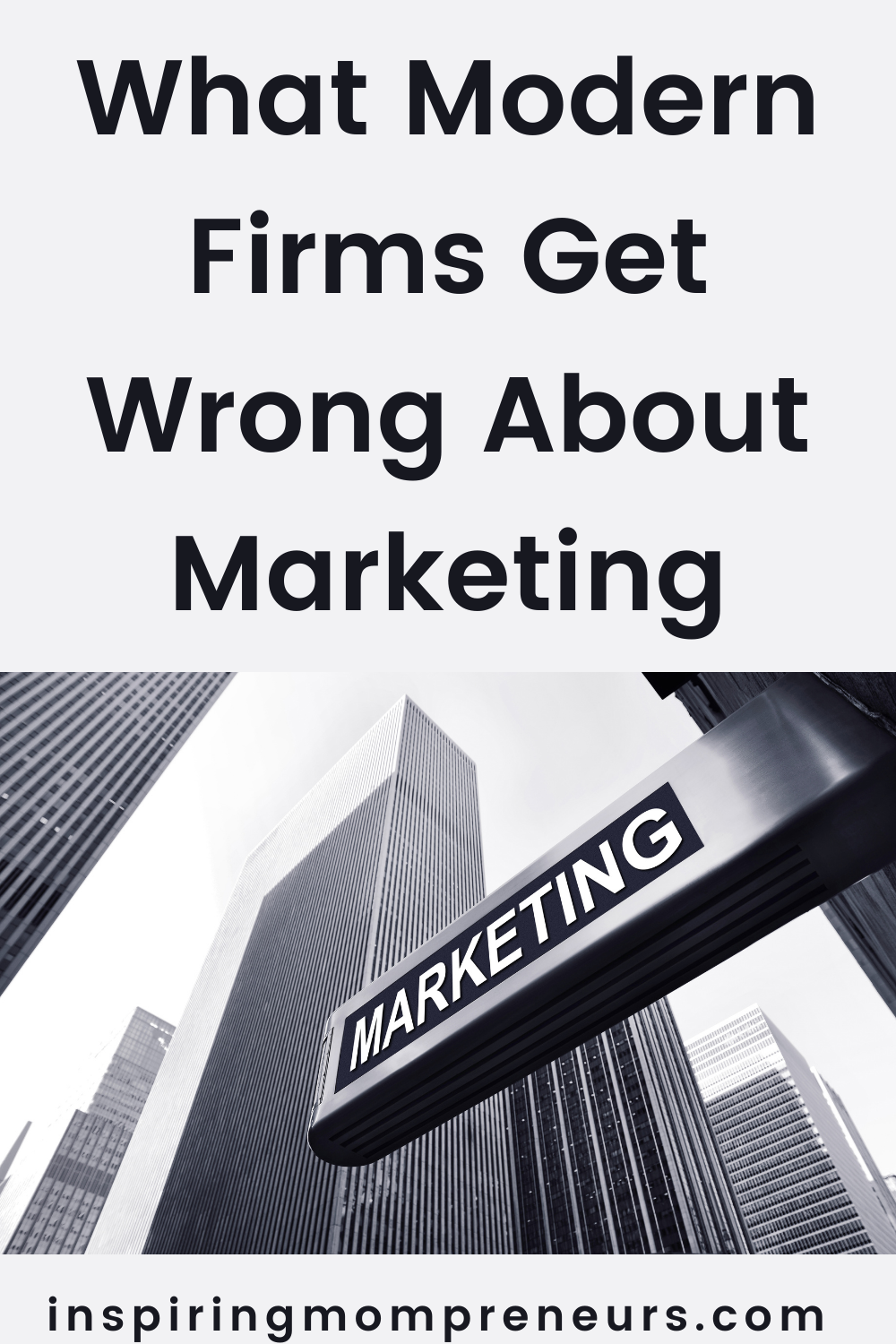Some companies may not truly understand how to leverage the latest marketing trends to their benefit. This is what modern firms get wrong about marketing.