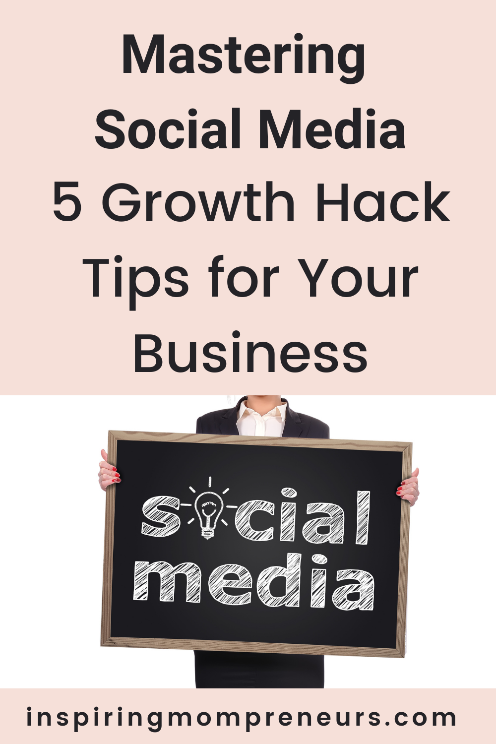 Social media offers an exceptional choice for promoting a business and unlimited exposure. Use these 5 growth hacks for mastering social media in your business. #mastering #socialmedia #growthhacktips